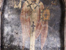 The honoree saint of the Church Aghios Nikolaos Kasnitzi: Nikiforos Kasnitzis