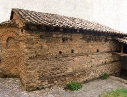 Aghios Nikolaos of Magalios: the main pictorial decoration was created by the